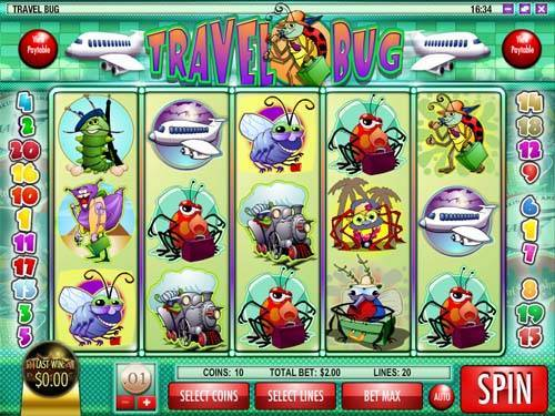 Travel Bug free slot