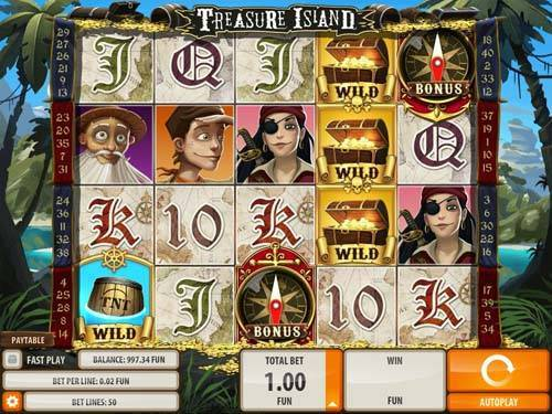 Treasure Island free slot