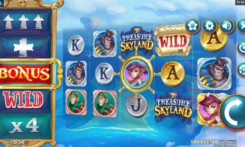 Treasure Skyland free slot