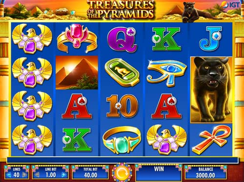 Treasures of the Pyramids free slot
