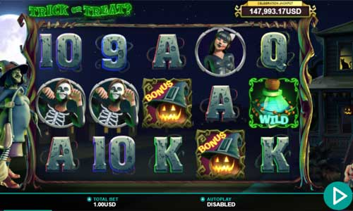 Trick or Treat free slot