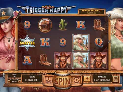 Trigger Happy free slot