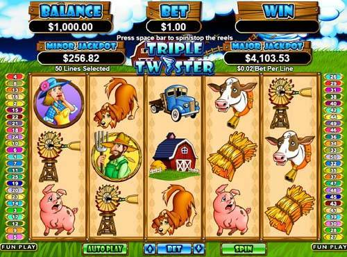Triple Twister free slot
