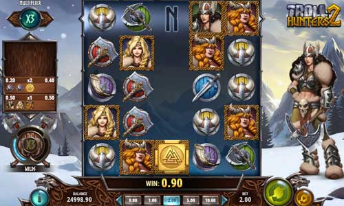Troll Hunters 2colossal symbols slot