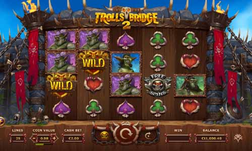 Trolls Bridge 2symbol upgrade slot