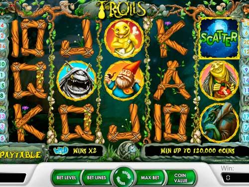 Trolls free slot