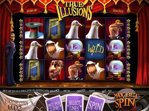 True Illusions free slot