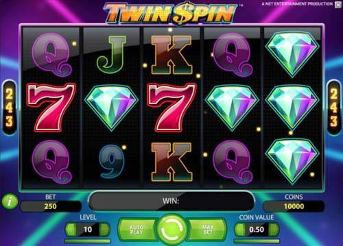 Twin Spin free slot