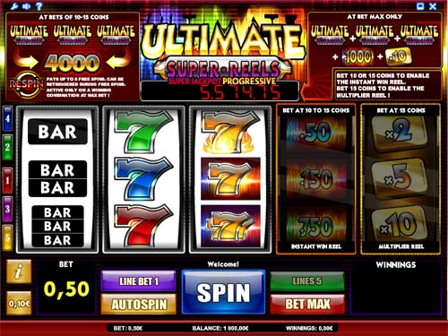 Absolute Super Reels™ Slot Machine Game to Play Free in iSoftBets Online Casinos