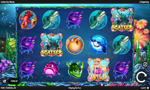 Under The Waves free slot
