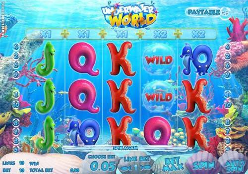 Underwater World free slot