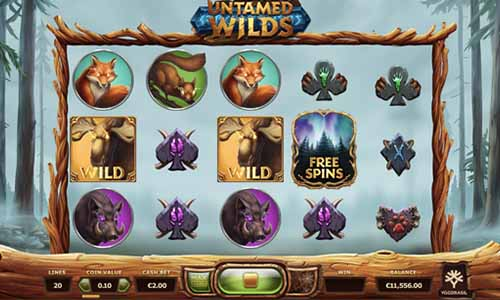 Untamed Wilds free slot