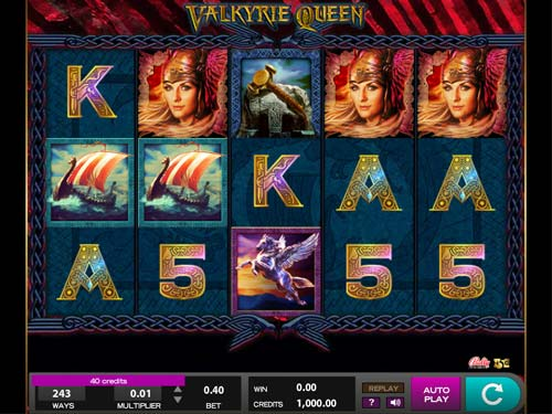 Valkyrie Queen free slot