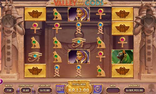 Valley of the Gods free slot