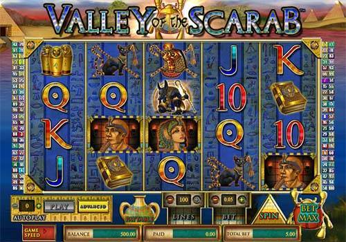 Valley of the Scarab free slot