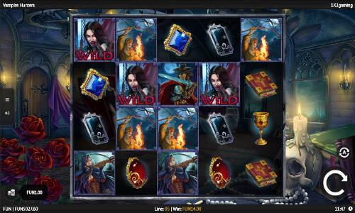 Vampire Hunters free slot