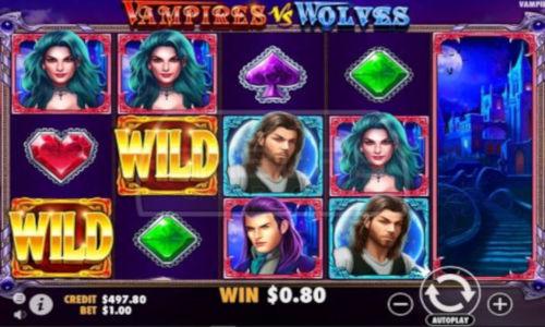 Vampires vs Wolves free slot