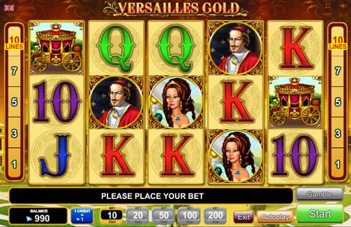 Versailles Gold Slot Machine Online ᐈ EGT™ Casino Slots