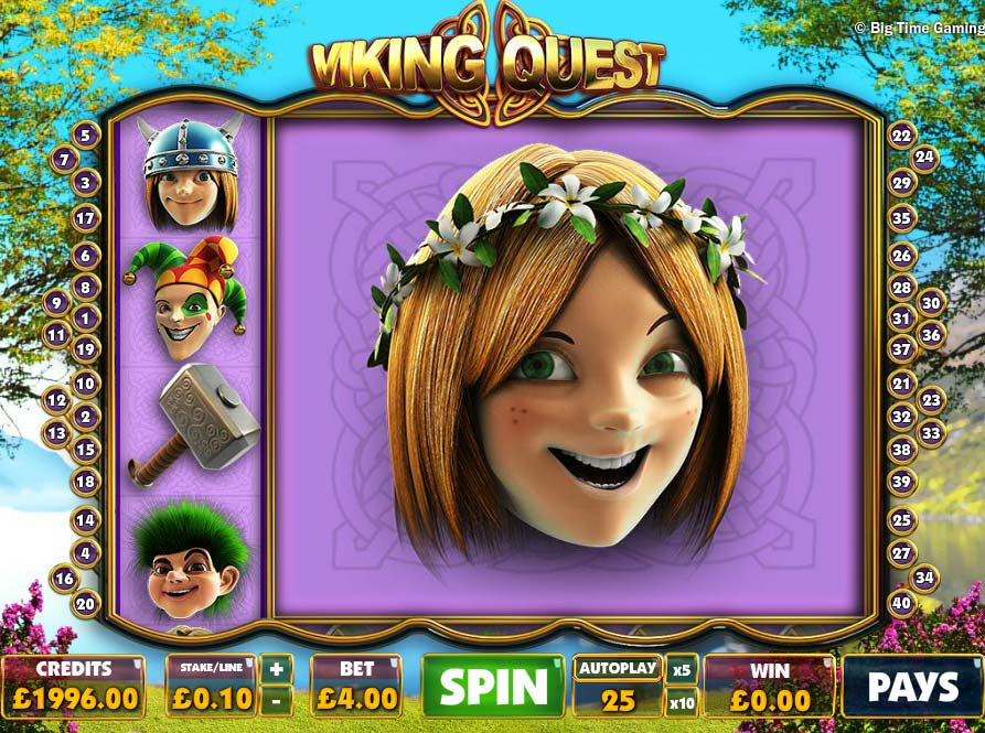 Viking Quest free slot