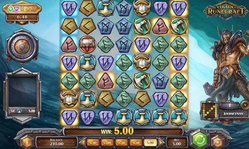 Viking Runecraftcluster pays slot