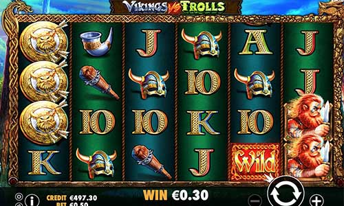 Vikings vs Trolls free slot