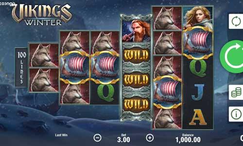 Vikings Winter free slot