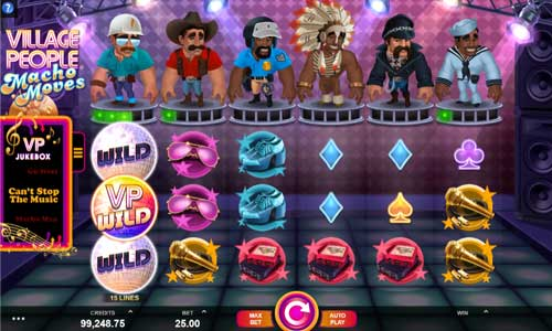 Village People Macho Moves free slot
