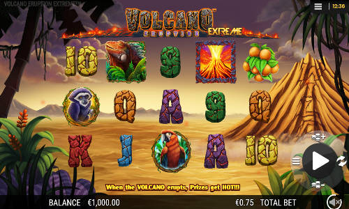Volcano Eruption Extreme free slot