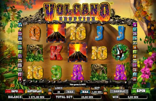 Volcano Eruption free slot
