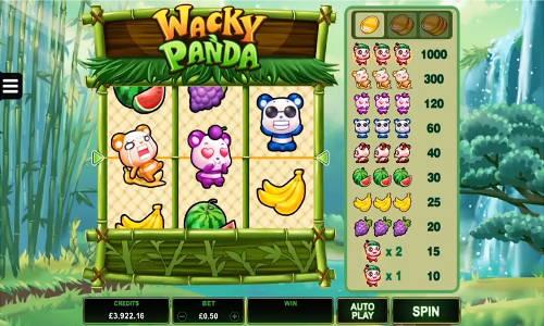 Wacky Panda free slot