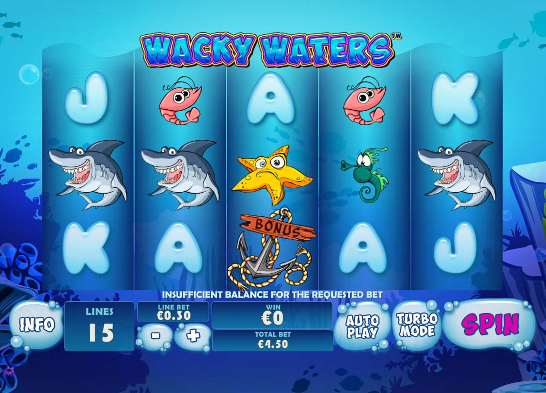 Wacky Waters free slot
