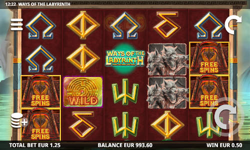 Ways of the Labyrinth free slot