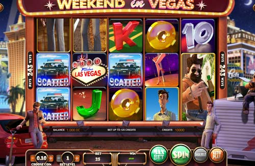 Weekend in Vegas free slot
