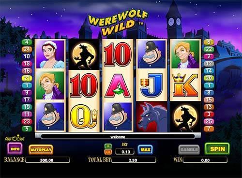 Werewolf Wild free slot
