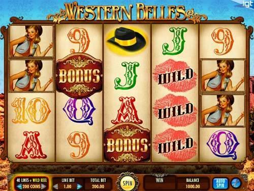 Western Belles free slot