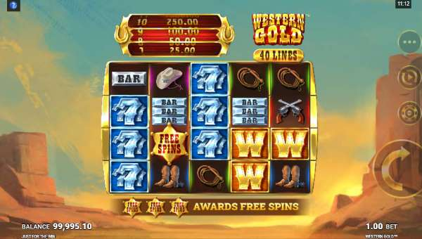 Western Gold casino slot