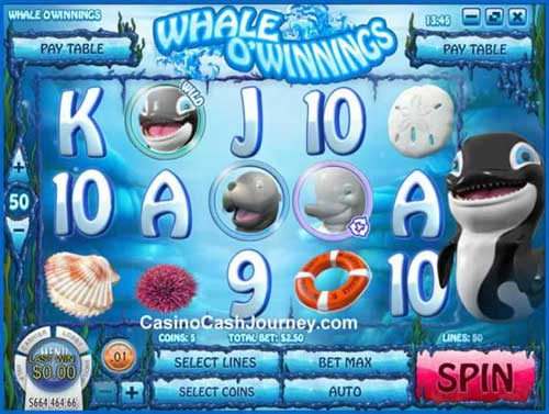 Whale O Winnings free slot