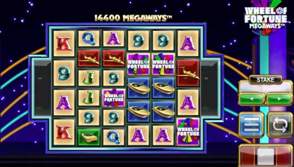 Wheel of Fortune Megawaysexpanding reels slot