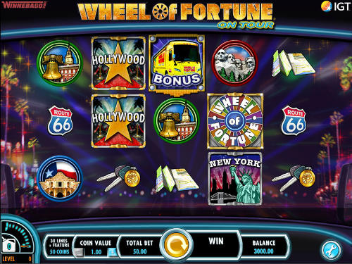 Wheel of Fortune On Tour casino slot
