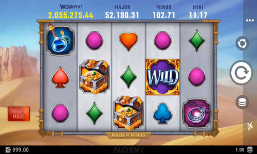 Wheel of Wishes free slot