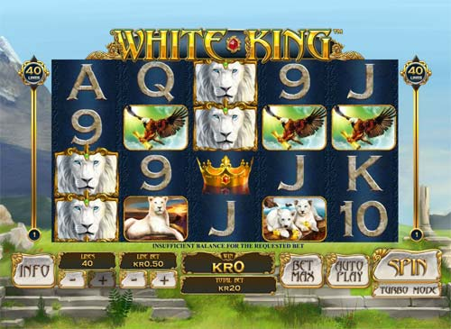 White King casino slot
