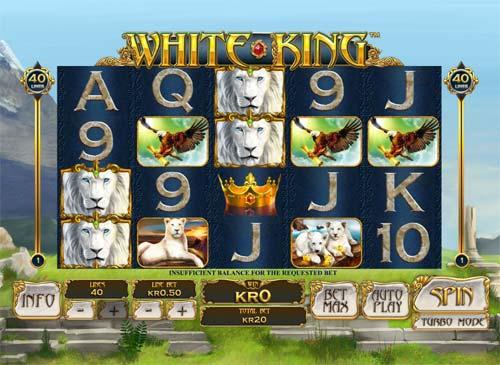 White King free slot