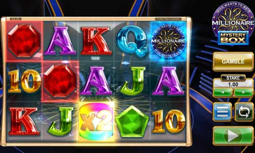 Who Wants to Be a Millionaire Mystery Boxincreasing multiplier slot