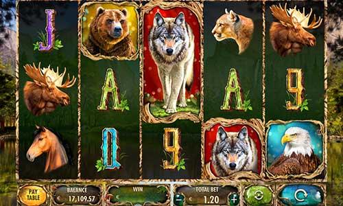 Wild Animalscolossal symbols slot