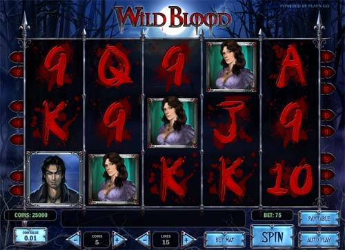 Wild Blood free slot
