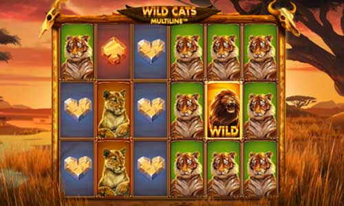 Wild Cats Multiline free slot
