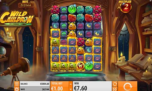 Wild Cauldron casino slot