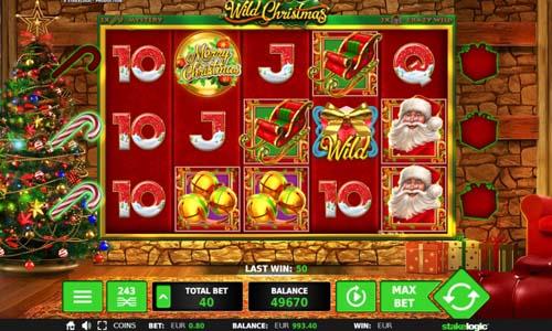 Wild Christmas free slot