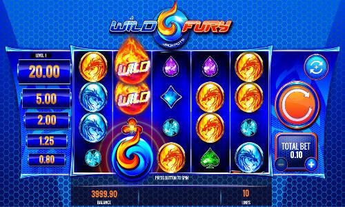 Wild Fury Jackpots free slot