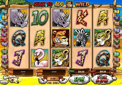 Wild Gambler free slot